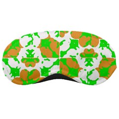 Graphic Floral Seamless Pattern Mosaic Sleeping Masks by dflcprints