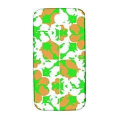 Graphic Floral Seamless Pattern Mosaic Samsung Galaxy S4 I9500/i9505  Hardshell Back Case by dflcprints