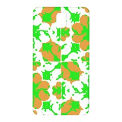 Graphic Floral Seamless Pattern Mosaic Samsung Galaxy Note 3 N9005 Hardshell Back Case by dflcprints