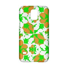 Graphic Floral Seamless Pattern Mosaic Samsung Galaxy S5 Hardshell Case  by dflcprints