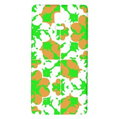 Graphic Floral Seamless Pattern Mosaic Galaxy Note 4 Back Case by dflcprints
