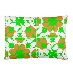 Graphic Floral Seamless Pattern Mosaic Pillow Case by dflcprints