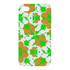 Graphic Floral Seamless Pattern Mosaic Apple Iphone 4/4s Premium Hardshell Case by dflcprints