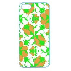 Graphic Floral Seamless Pattern Mosaic Apple Seamless Iphone 5 Case (color) by dflcprints