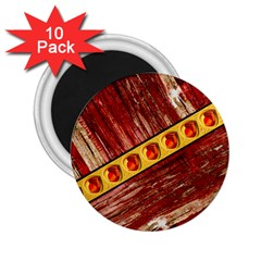 Wood And Jewels 2 25  Magnets (10 Pack)
