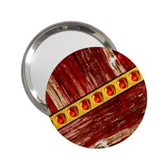 Wood And Jewels 2 25  Handbag Mirrors