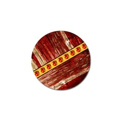 Wood And Jewels Golf Ball Marker (4 Pack)