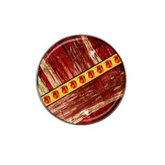 Wood And Jewels Hat Clip Ball Marker