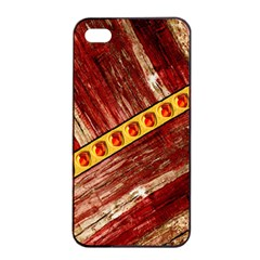 Wood And Jewels Apple Iphone 4/4s Seamless Case (black)