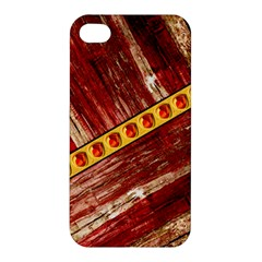 Wood And Jewels Apple Iphone 4/4s Premium Hardshell Case