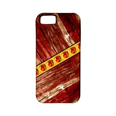 Wood And Jewels Apple Iphone 5 Classic Hardshell Case (pc+silicone) by linceazul