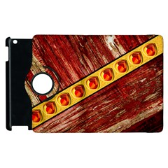 Wood And Jewels Apple Ipad 2 Flip 360 Case