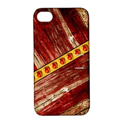 Wood And Jewels Apple Iphone 4/4s Hardshell Case With Stand