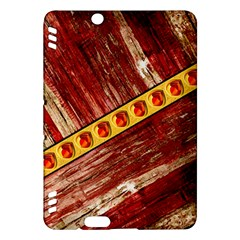 Wood And Jewels Kindle Fire Hdx Hardshell Case by linceazul
