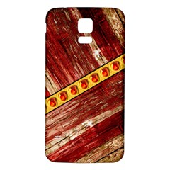 Wood And Jewels Samsung Galaxy S5 Back Case (white)