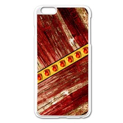 Wood And Jewels Apple Iphone 6 Plus/6s Plus Enamel White Case
