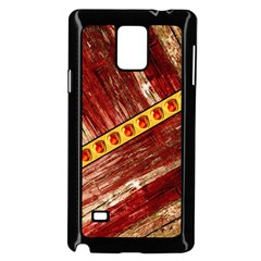 Wood And Jewels Samsung Galaxy Note 4 Case (black)