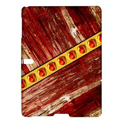 Wood And Jewels Samsung Galaxy Tab S (10 5 ) Hardshell Case  by linceazul