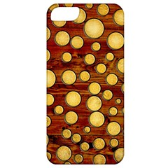 Wood And Gold Apple Iphone 5 Classic Hardshell Case