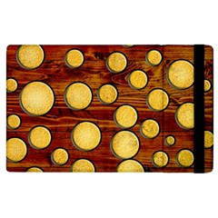 Wood And Gold Apple Ipad 3/4 Flip Case