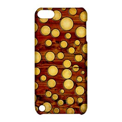 Wood And Gold Apple Ipod Touch 5 Hardshell Case With Stand
