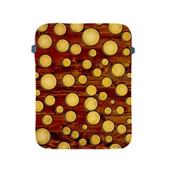 Wood And Gold Apple Ipad 2/3/4 Protective Soft Cases