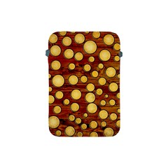 Wood And Gold Apple Ipad Mini Protective Soft Cases