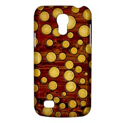 Wood And Gold Galaxy S4 Mini by linceazul