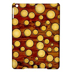 Wood And Gold Ipad Air Hardshell Cases