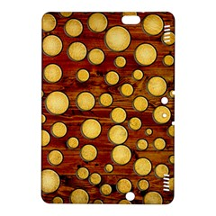 Wood And Gold Kindle Fire Hdx 8 9  Hardshell Case