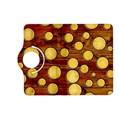 Wood And Gold Kindle Fire Hd (2013) Flip 360 Case