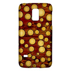 Wood And Gold Galaxy S5 Mini