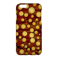Wood And Gold Apple Iphone 6 Plus/6s Plus Hardshell Case
