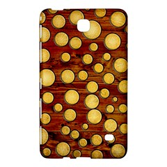 Wood And Gold Samsung Galaxy Tab 4 (8 ) Hardshell Case
