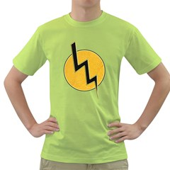 Lightning Bolt Green T Shirt