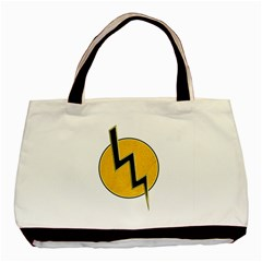 Lightning Bolt Basic Tote Bag