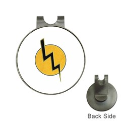 Lightning Bolt Hat Clips With Golf Markers