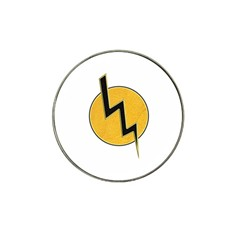 Lightning Bolt Hat Clip Ball Marker (4 Pack)