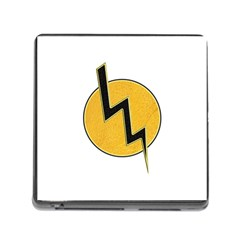 Lightning Bolt Memory Card Reader (square)