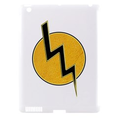 Lightning Bolt Apple Ipad 3/4 Hardshell Case (compatible With Smart Cover) by linceazul