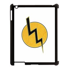 Lightning Bolt Apple Ipad 3/4 Case (black)