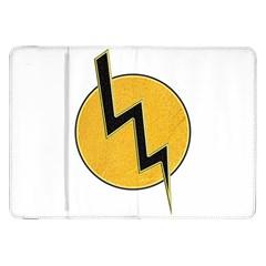 Lightning Bolt Samsung Galaxy Tab 8 9  P7300 Flip Case