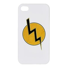 Lightning Bolt Apple Iphone 4/4s Premium Hardshell Case