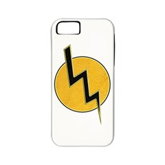Lightning Bolt Apple Iphone 5 Classic Hardshell Case (pc+silicone)