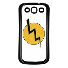 Lightning Bolt Samsung Galaxy S3 Back Case (black)