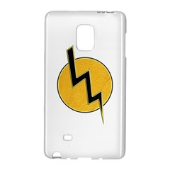 Lightning Bolt Galaxy Note Edge by linceazul