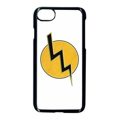 Lightning Bolt Apple Iphone 7 Seamless Case (black)