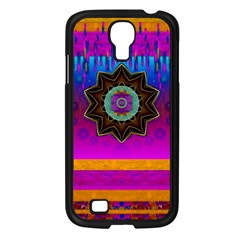 Air And Stars Global With Some Guitars Pop Art Samsung Galaxy S4 I9500/ I9505 Case (black) by pepitasart