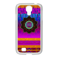 Air And Stars Global With Some Guitars Pop Art Samsung Galaxy S4 I9500/ I9505 Case (white) by pepitasart