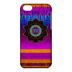 Air And Stars Global With Some Guitars Pop Art Apple Iphone 5c Hardshell Case by pepitasart